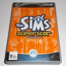 THE SIMS SUPERSTAR EXPANSION PACK PC GAME