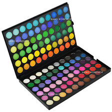 120 COLORI NUOVI Eyeshadow Makeup Palette 24 NERO PURO Brush & luvvie Brush # 258