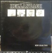 Rare NWOBHM Metal LP by HELLANBACH Now Hear This 1983 Original UK Press