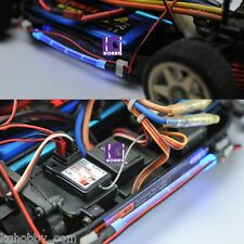 RC 1/10 CAR TRUCK BUGGY chassis body BLUE COLOR LED TUBE strip LIGHT COOL LOOK