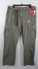 Young Mens Unionbay Cargo Pants Size 32x32 Survivor nwt Cotton Leaf Y35HE3D