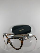 Brand New Authentic Dsquared 2 DQ 5086 055 Eyeglasses Tortoise Brown 55mm Frame