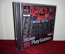��Devil's Deception - PS1 COMPLET PAL (FR)**Comme Neuf** RARE!! SUNSOFT��TECMO™