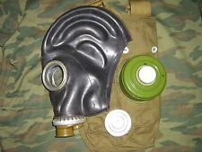 Military soviet russian gas mask GP-5. SIZE-2. FULL SET. Black