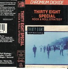 RARE. Thirty Eight Special - Rock & Roll Strategy (Cassette CANADA IMPORT 1988)