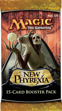Magic Mtg New Phyrexia Factory sealed Booster Pack X 3 !
