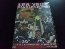 """RARE! DVD NEUF """"LES YEUX DANS LES BLEUS"""" documentaire coupe du monde 98 football"""