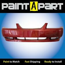 1999 2000 2001 Ford Mustang (Base) Front Bumper Painted E9 Laser Red Metallic