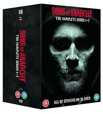 SONS OF ANARCHY COMPLETE SERIES SEASON 1 2 3 4 5 6 7 BOXSET 1-7 DVD R4 EXPRESS!