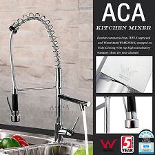 ACA Kitchen Spout Vanity Swivel Faucet Sink Basin Mixer Tap Commercial Chrome