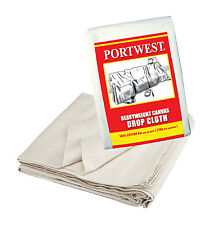 Heavy Duty Canvas Drop Cloth  9' x 12' Protection Painter Decorator G912