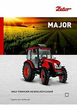 Zetor Major 01 / 2015 catalogue brochure tracteur Traktor tractor