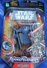 STAR WARS SW Transformers DARTH VADER figure ~ NEW  Series 1