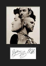 THE SCRIPT #4 Signed Photo Print A5 Mounted Photo Print - FREE DELIVERY