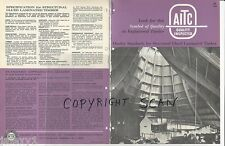 1964 AITC Engineered STRUCTURAL Glued Laminated TIMBER Building Vintage Catalog