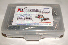 ASSOCIATED B44.3 TEAM/FACTORY RC SCREWZ SCREW SET STAINLESS STEEL ASS061