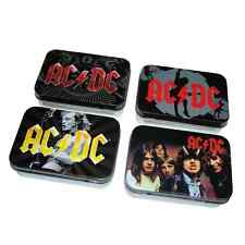 AC/DC 4 Metalldosen HIGHWAY TO HELL / BLACK ICE 4 tin boxes ♫ ACDC ♪ Rock N Roll