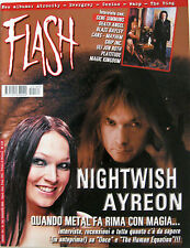 FLASH 183 2004 Nightwish Ayreon Gene Simmons Death Angel Blaze Bayley Cans Grip