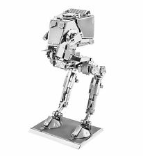 Metal Tierra Star Wars 3d Láser de corte de Metal En Miniatura Modelo Kit At-st
