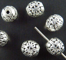 72pcs Tibetan Silver Nice Bail Style Spacer Beads 8x7mm ZN1003