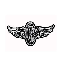 Biker Chopper motocicleta Flying Wheel Wings neumáticos alas aufbügler Patch Patch