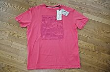 TOM TAILOR sz XL / EUR XXL NEW MENS T-SHIRT POLO COTTON SPORTS JEANS RED CREW