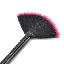 Fan Shape Makeup Cosmetic Brush Blending Highlighter Contour Face Powder New