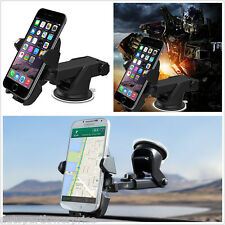 One Touch Car Trucks Dashboard Sucker Stand Mount Holder For All Mobile Phones