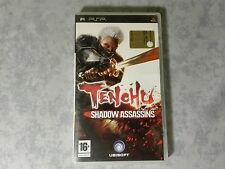 TENCHU SHADOW ASSASSINS PRIMA STAMPA SONY PSP ITALIANO COMPLETO COME NUOVO RARO