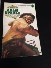 #6 Adam Steele The Killing Art Western Novel! George Gilman 1975 Clean!
