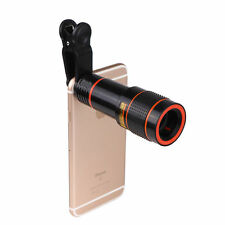 Hot Clip-on 12x Optical Zoom HD Telescope Camera Lens For Universal Mobile Phone