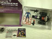 TRANSFORMERS MAGNIFICUS D-68 BLACK PERCEPTOR E-HOBBY Microman collector's Editio