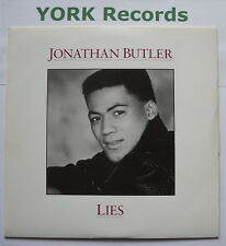 "JONATHAN BUTLER - Lies - Excellent Condition 7"" Single JIVE 141"