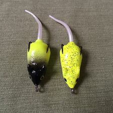 2 Top Water Quality Mouse Lures