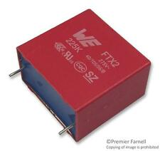 Capacitors - Film Capacitors - CAP FILM PP 1UF 275VAC RAD