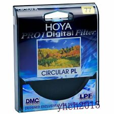 New Genuine Hoya Pro1 77mm Digital Circular PL Filter CPL for Canon Nikon Lens