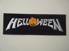 HELLOWEEN PATCH Embroidered Iron On Badge Heavy Metal BAND LOGO GAMMA RAY NEW
