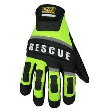 New! Ringers Gloves Two Layer Fingertip Design Rescue Glove Size Large 347-10