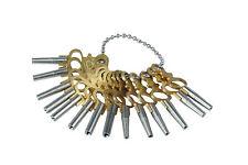 Proops Set of 14 Pocket Watch Watchmakers Winding Keys. J1179