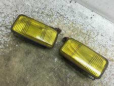 JDM HONDA CIVIC CR-X EF8 EF9 ORIGINAL STANLEY YELLOW FOG LIGHTS OEM