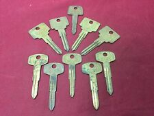 Chevy, Nissan & Volva by Curtis Automotive Key Blanks, Set of 10 - Locksmith