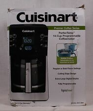 Cuisinart 14 Cup Programmable Coffeemaker DCC-2800 Black - Damaged Box