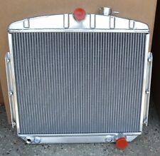 """55-57 Chevy Radiator Aluminum Direct Fit Large 1-1/8"""" tubes A MUST READ!"""