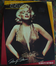 MARILYN MONROE 550 PIECE GOLDEN SPOTLIGHT PUZZLE #5291 NEW SEALED.