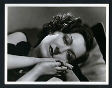 GREAT SEXY GLORIA SWANSON OVERSIZE DBLWT PHOTO BY C S BULL - EXC CON - LARGE