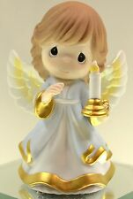 Precious Moments CHRISTMAS ANGEL w/ CANDLE 121027 NIB