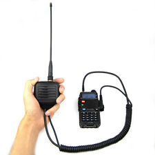 UHF VHF SMA-F Antenna Handheld Speaker Mic for Puxing Quansheng Two Way Radio