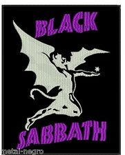BLACK SABBATH EMBROIDERED BACK PATCH DEEP PURPLE KISS DIO BACKPATCH Metal Negro