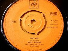 """MARTY ROBBINS - RUBY ANN  7"""" VINYL"""