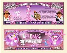 La  PANTHERE  ROSE . Million Dollar USA . Billet de commémoration / Collection